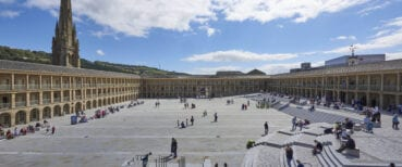 The Piece Hall is crowned Yorkshire's most iconic building