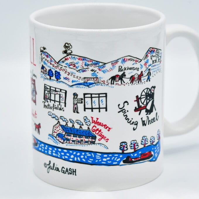 the piece hall china mug.