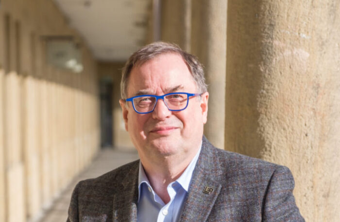 Arise, Sir Roger; Piece Hall Trust Chair made a knight