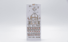 Handcrafted Bell Tower Bookmark