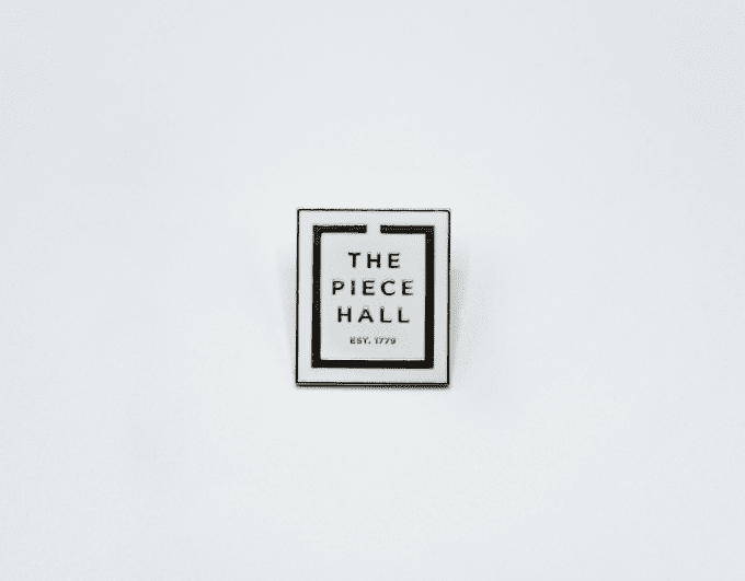 The piece hall pin.