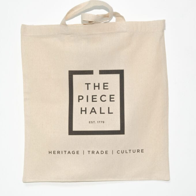 The piece hall Tote bag.