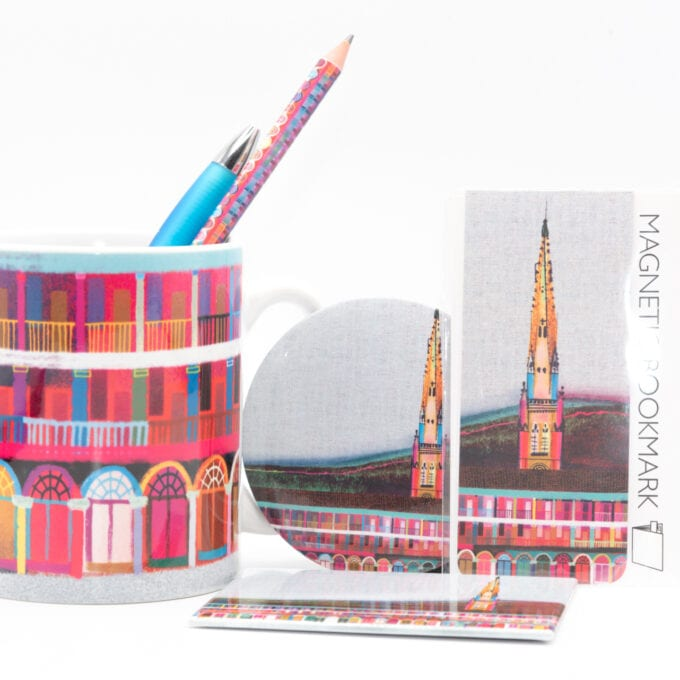 The piece hall Ilona Drew Gift bundle of stationary.