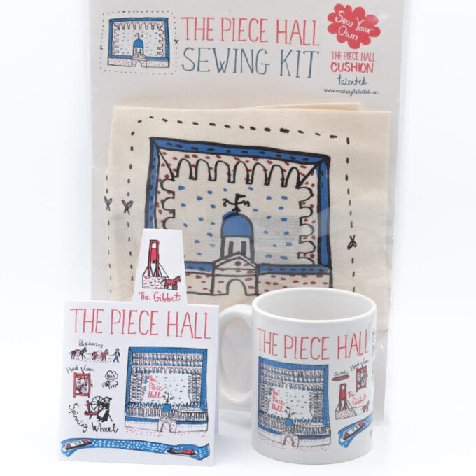 The piece hall sewing kit bundle.