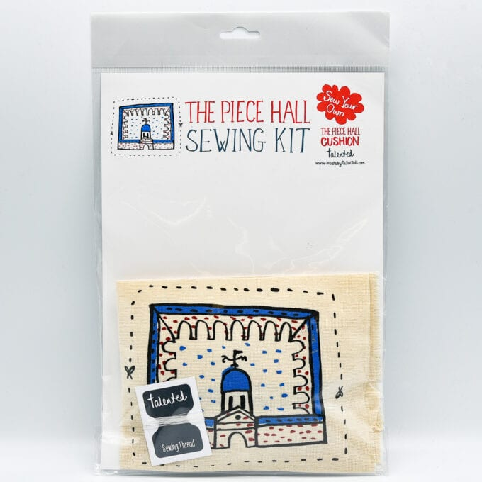 The piece hall sewing kit.
