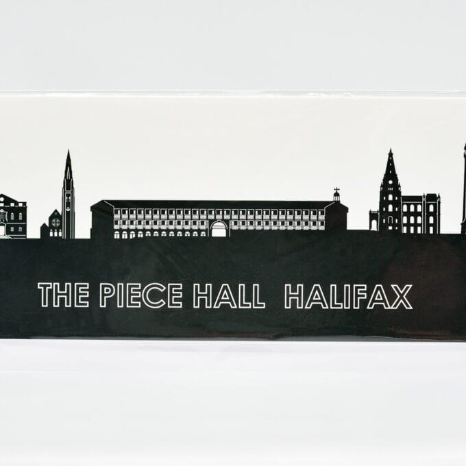 The piece hall Landmark Greetings Card.