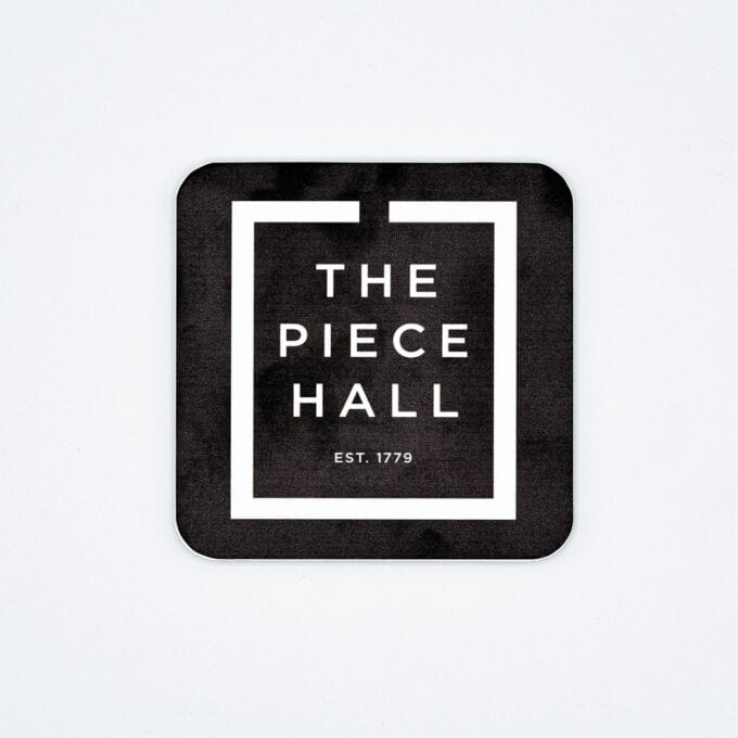 The piece hall coaster in black.