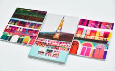 Ilona Drew 3 Pack Notebooks