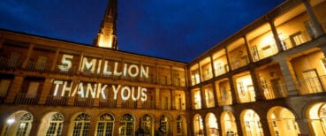 The Piece Hall has now welcomed 5 million visitors